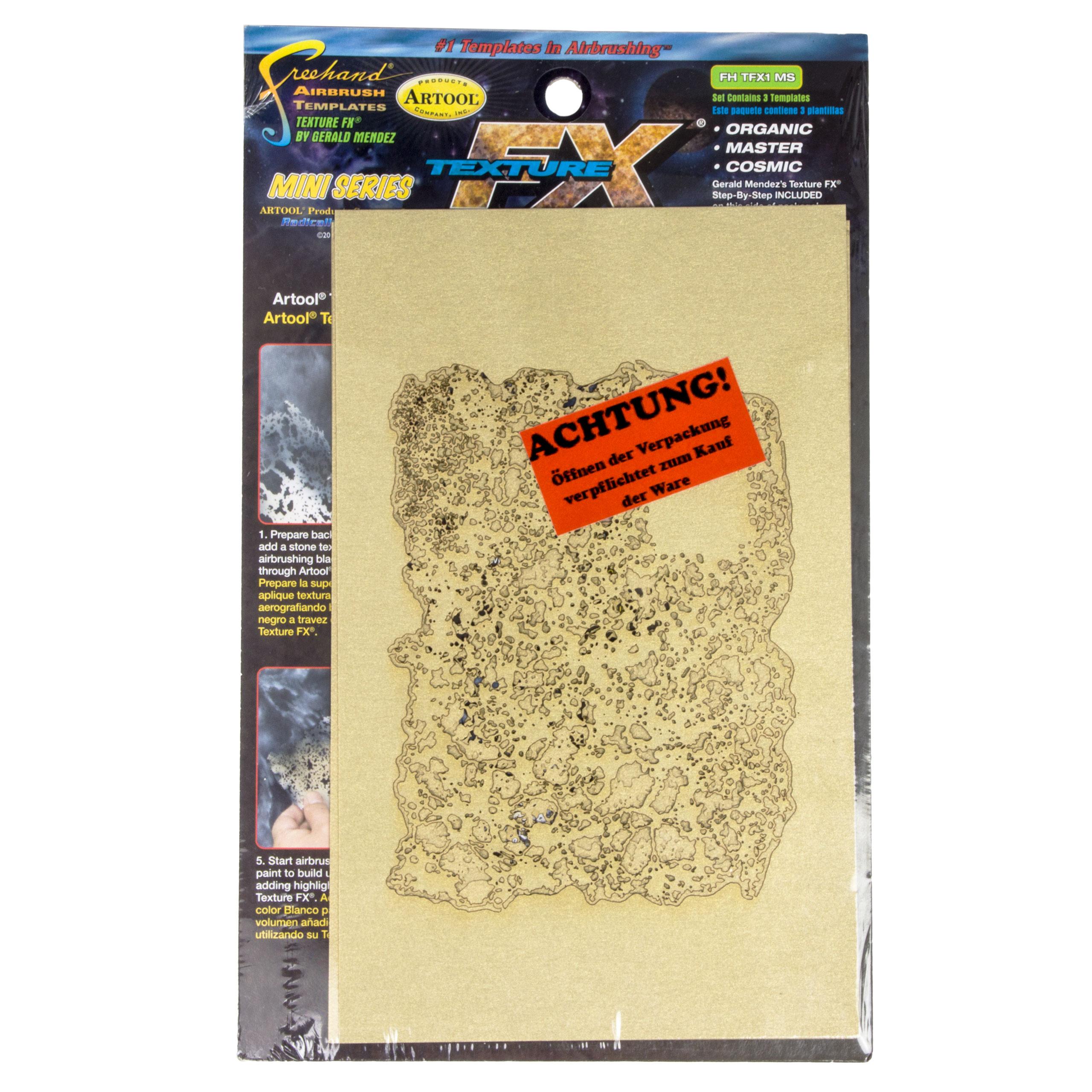 artool - Texture FX - Mini- Schablonenset 200 453