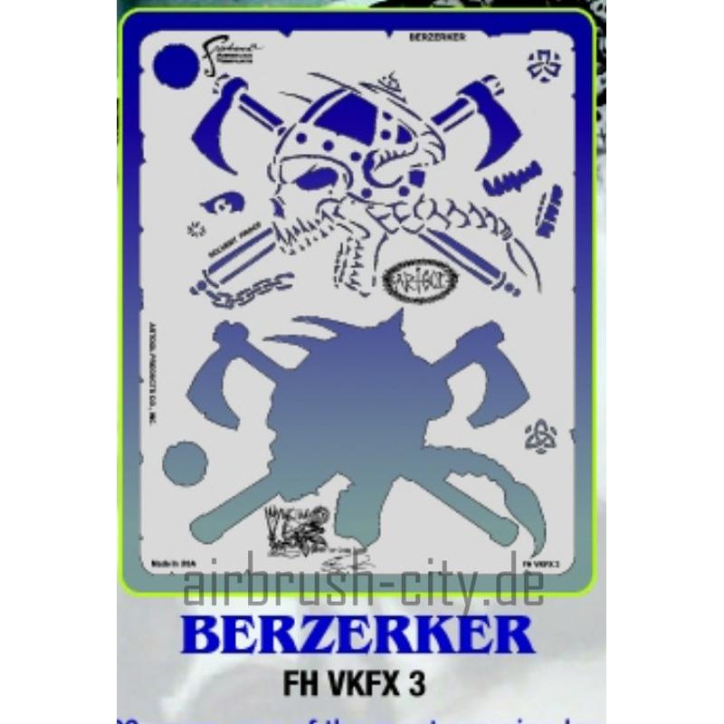 artool- VIKING FX BERZERKER - Schablone 200 500