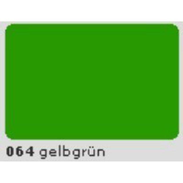 Oracal 651 Plotterfolie 63cm x 5m gelbgrün 064