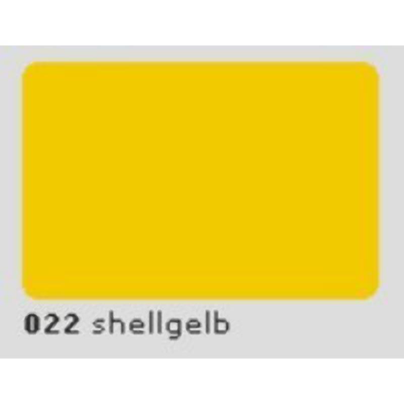 Oracal 651 Plotterfolie 63cm x 5m shellgelb 022