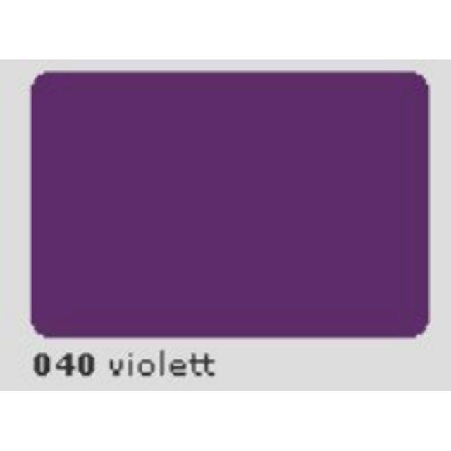 Oracal 651 Plotterfolie 63cm x 5m violett 040