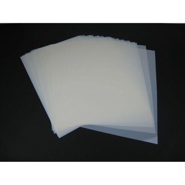 Mylar Schablonen Material DIN A2 Folie Mylarfolie 50 Stück