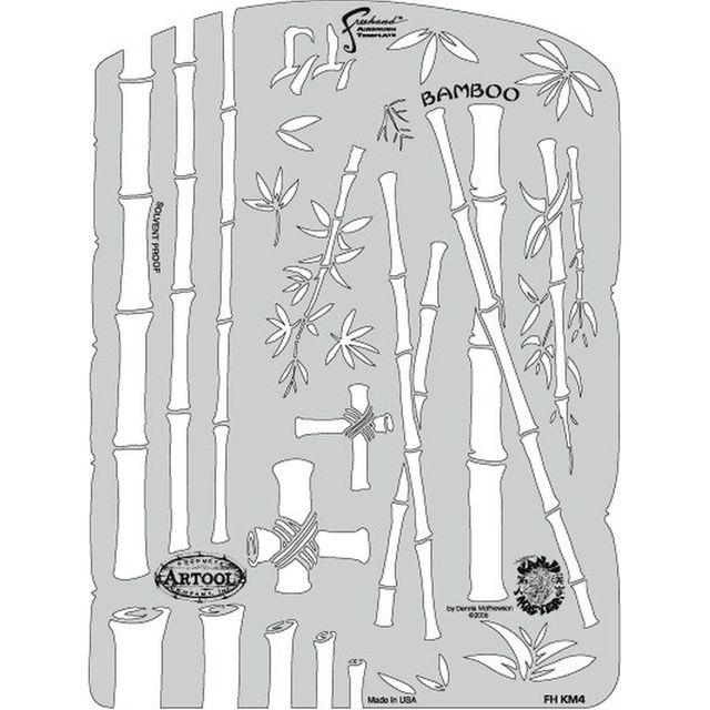 artool - Bamboo - Kanji Master- Schablone 200 426