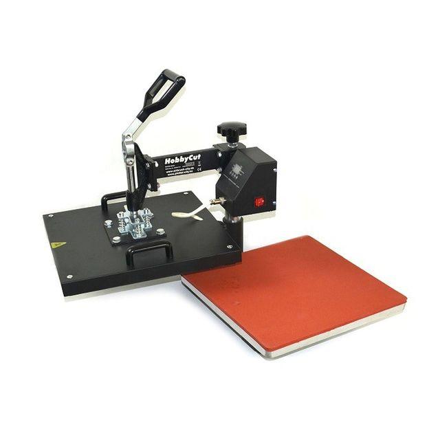 HobbyCut H010 5in1 Transferpresse 38cm x 38cm Textilpresse 1800 Watt 5 in 1