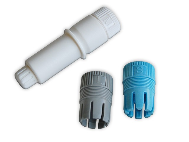 Stifthalter mit 3 Kunststoffkappen für Silhouette CAMEO, Portrait u.a.