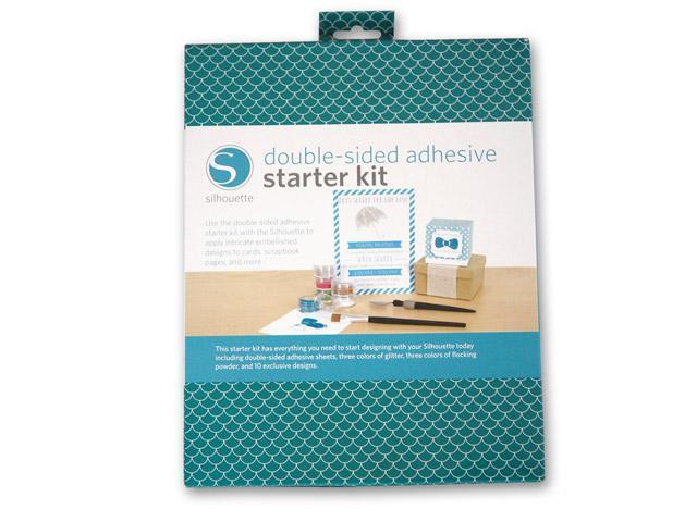 Silhouette Starter Kit - Doppelseitig klebendes Papier StarterKit Silhouette CAMEO u.a.
