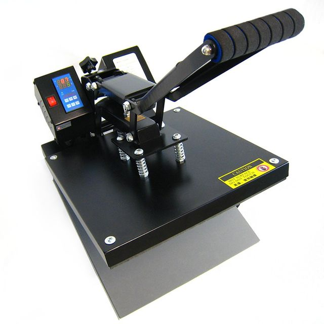 HobbyCut AA1-S Transferpresse 38cm x 38cm Textilpresse 2000 Watt