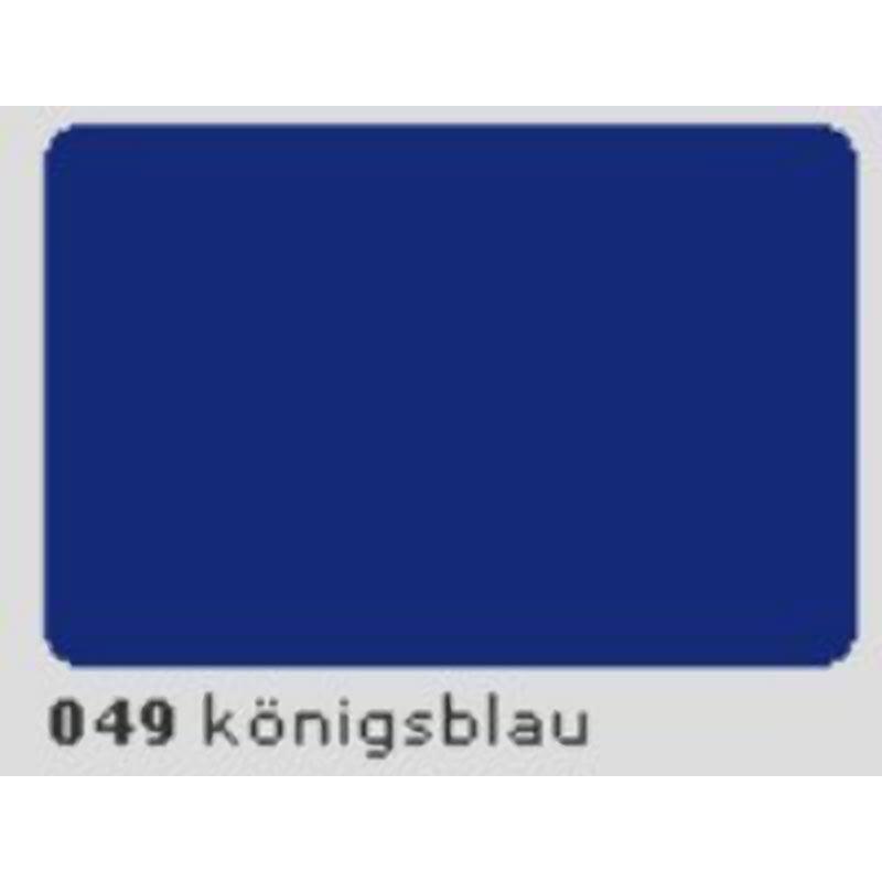Oracal 651 Plotterfolie 63cm x 20m königsblau 049