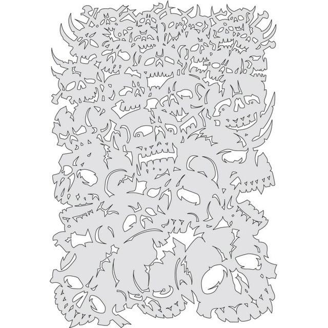 artool, Bonz II - Cuase of Skull Master 200 368 Airbrushschablone