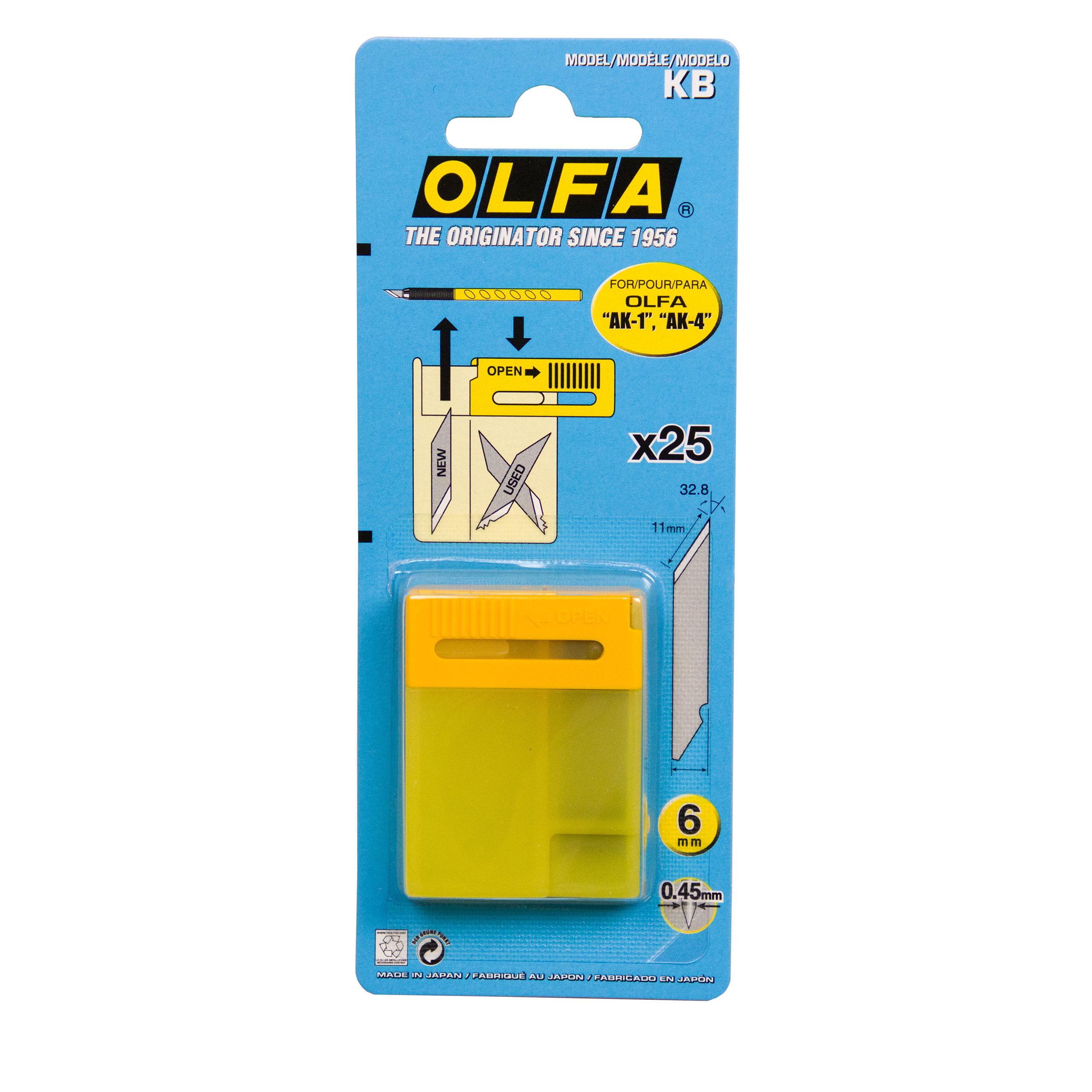 OLFA Ersatzklingen KB für die AK1 Messer